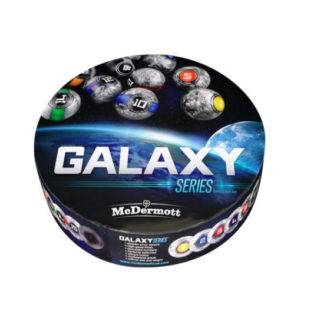 McDermott Galaxy Series Billiard Ball Set