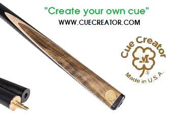 snooker cue from cue creator