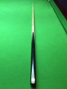 cc322 Snooker cue plain ebony butt