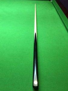 cc334 snooker cue maple with ebony butt